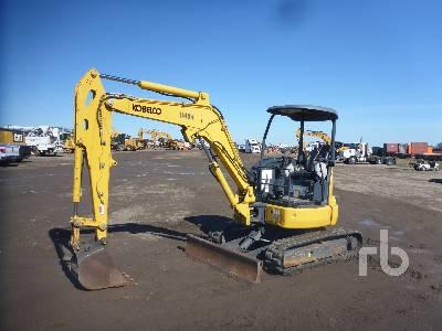 2018 KOBELCO SK35SR-6E Mini Excavator (1 - 4.9 Tons)
