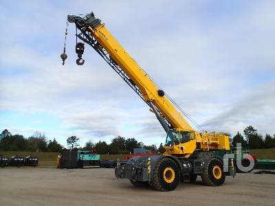 2008 GROVE RT760E 60 Ton 4x4x4 Rough Terrain Crane