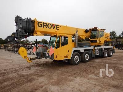 2003 GROVE TMS760E 60 Ton 8x4x4 Hydraulic Truck Crane