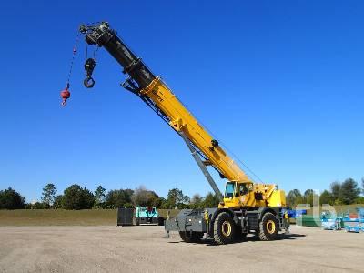2007 GROVE RT890E 90 Ton 4x4x4 Rough Terrain Crane