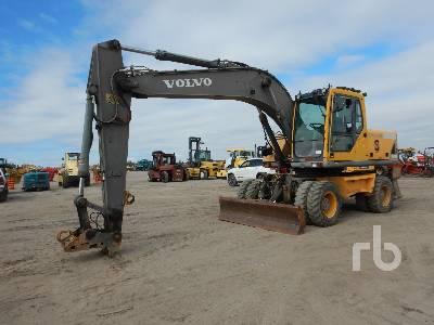 2004 VOLVO EW180B Mobile Excavator