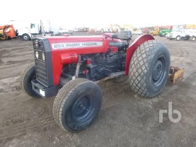 1988 MASSEY FERGUSON 253 2WD Utility Tractor