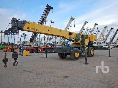 2013 GROVE RT540E 40 Ton 4x4x4 Rough Terrain Crane
