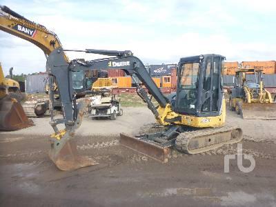 2013 JOHN DEERE 50D Midi Excavator (5 - 9.9 Tons)