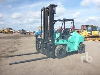 2015 MITSUBISHI FD70N 12900 Lb Forklift