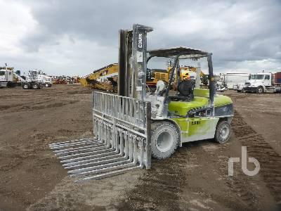 2015 CLARK C55S 11000 Lb Forklift