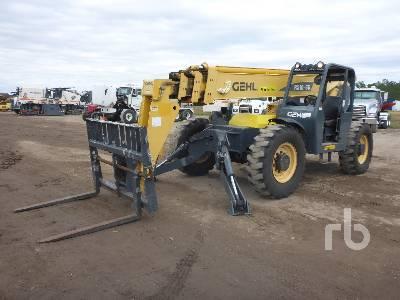 2014 GEHL RS1055 10000 Lb 4x4x4 Telescopic Forklift