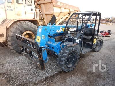 2016 GENIE GTH5519 5500 Lb 4x4x4 Telescopic Forklift