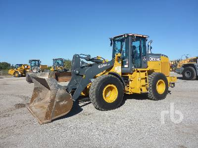 2018 JOHN DEERE 624K Series II Wheel Loader