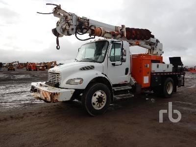 2004 FREIGHTLINER M2106 S/A w/Altec D945BR Digger Derrick Truck
