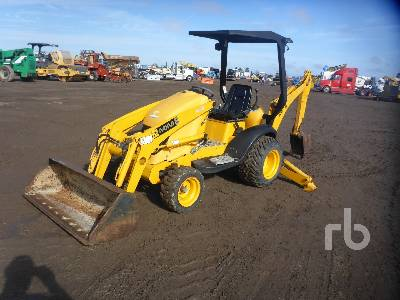 2005 JCB MINI CX Loader Backhoe