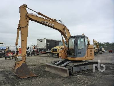 2011 CASE CS135SR Hydraulic Excavator