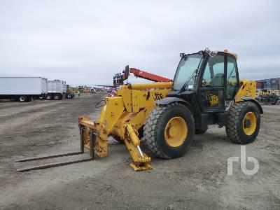 2007 JCB 550-140 10000 Lb 4x4x4 Telescopic Forklift