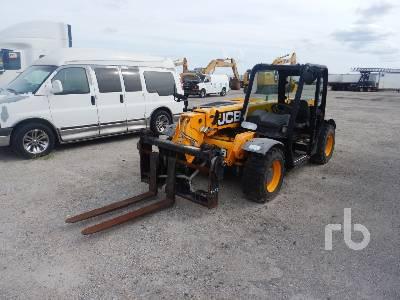 2015 JCB 525-60 5500 Lb 4x4x4 Telescopic Forklift