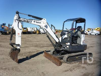 2012 BOBCAT E35 Mini Excavator (1 - 4.9 Tons)