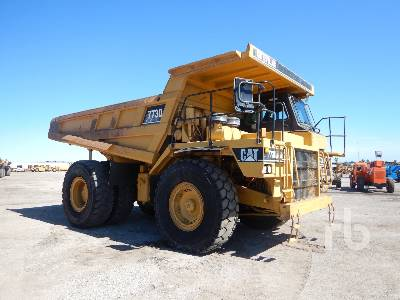 1999 CATERPILLAR 773D Rock Truck