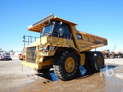 2000 CATERPILLAR 773D Rock Truck