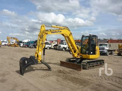 2018 KOMATSU PC80MR-5 Midi Excavator (5 - 9.9 Tons)