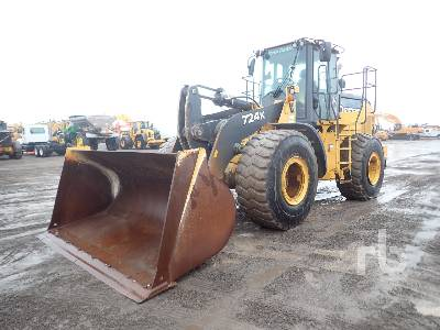 2017 JOHN DEERE 724K Wheel Loader
