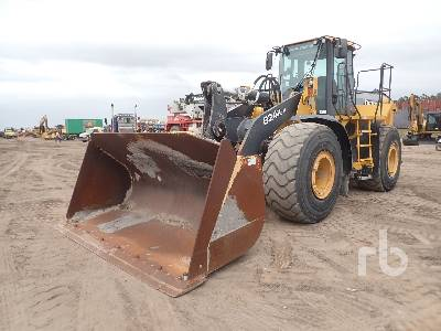 2015 JOHN DEERE 824K Series II Wheel Loader