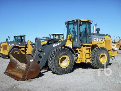 2017 JOHN DEERE 644K Wheel Loader