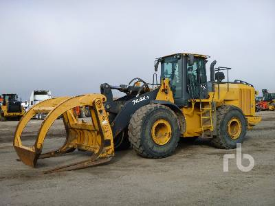 2015 JOHN DEERE 744K Series II Wheel Loader