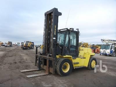 2007 HYSTER H280 28000 Lb 4x4 Forklift