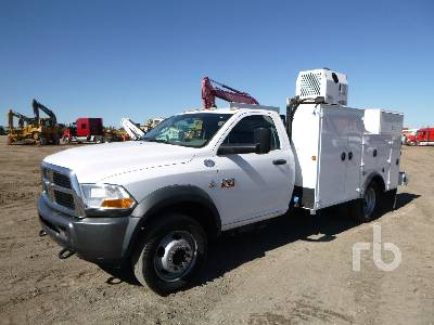 2011 DODGE RAM 5500 Utility Truck
