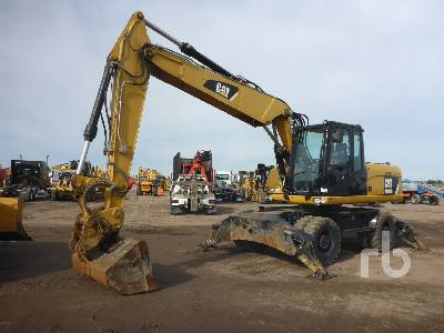 2012 CATERPILLAR M318D 4x4 Mobile Excavator