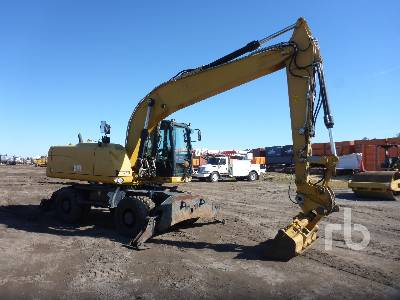 2014 CATERPILLAR M318D 4x4 Mobile Excavator
