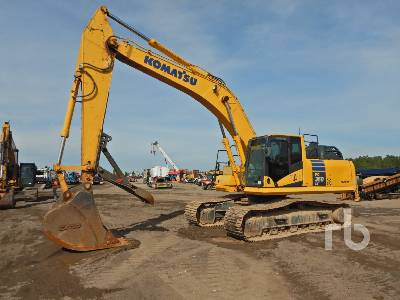 2017 KOMATSU PC360LC-11 Hydraulic Excavator