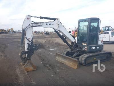 2015 BOBCAT E45 Mini Excavator (1 - 4.9 Tons)