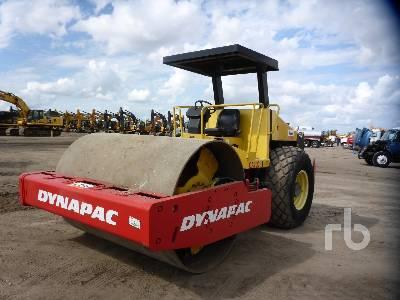 2010 DYNAPAC CA250D Vibratory Roller