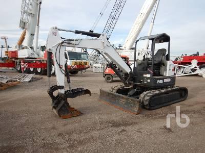 2017 BOBCAT E45 Mini Excavator (1 - 4.9 Tons)