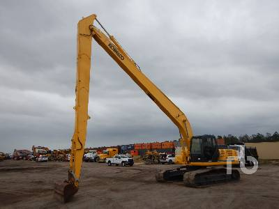 2008 KOBELCO SK260LC Acera Mark 8 Long Reach Hydraulic Excavator