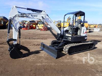2011 BOBCAT E45 Mini Excavator (1 - 4.9 Tons)