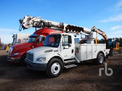 2006 FREIGHTLINER M2106 S/A w/Altec DM47TR Digger Derrick Truck