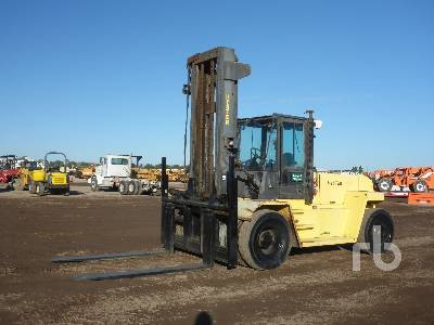 2001 HYSTER H300XL 30000 Lb 4x4 Forklift
