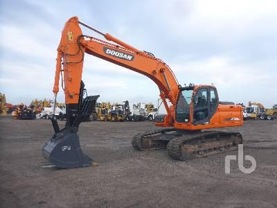 2015 DOOSAN DX225LCA Hydraulic Excavator
