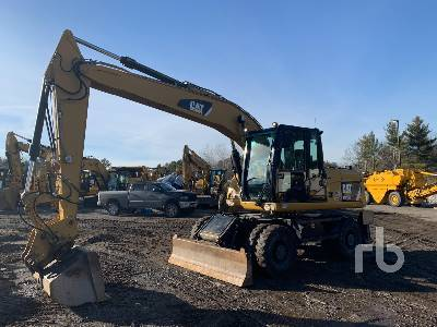 2013 CATERPILLAR M316D 4x4 Mobile Excavator