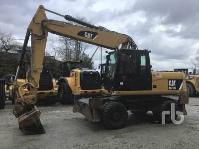 2013 CATERPILLAR M318D 4x4 Mobile Excavator