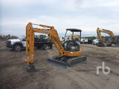 2017 CASE CX36B Mini Excavator (1 - 4.9 Tons)