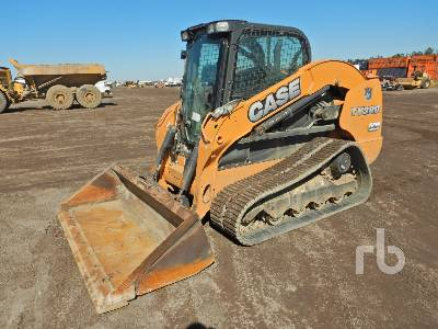 2016 CASE TV380 Compact Track Loader