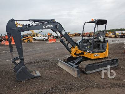2010 JOHN DEERE 50D Midi Excavator (5 - 9.9 Tons)