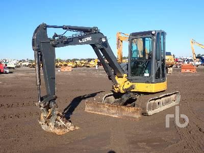 2008 JOHN DEERE 50D Midi Excavator (5 - 9.9 Tons)