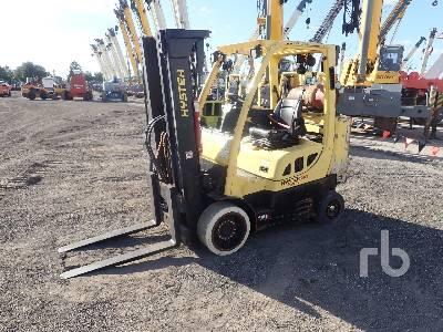 2013 HYSTER S80FTBCS 6950 Lb Forklift