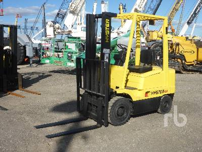 2003 HYSTER H40XMS 4000 Lb Forklift