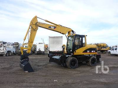 2003 CATERPILLAR M313C 4x4 Mobile Excavator