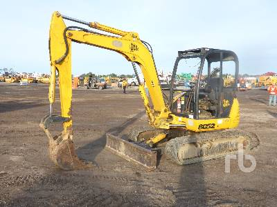 2001 JCB 8052 Midi Excavator (5 - 9.9 Tons)