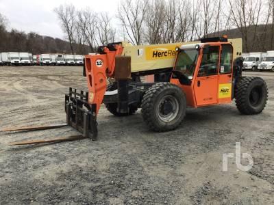 2012 JLG G1255A 12000 Lb 4x4x4 Telescopic Forklift